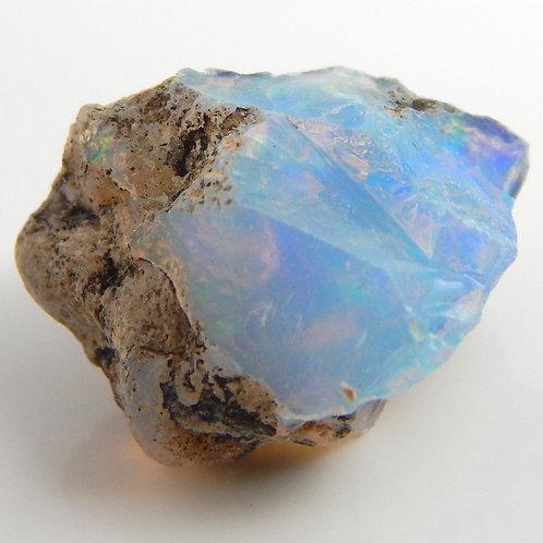 Ethiopian Opal Facet Rough 1.2 Grams (#40p)