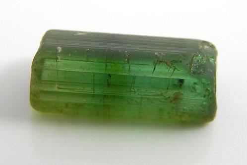 Green Congo Tourmaline Facet Rough 1.4 Grams (#597p)