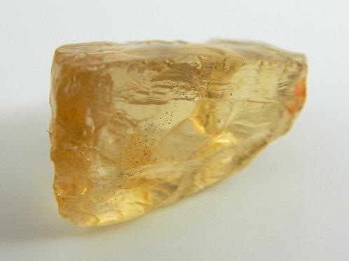 Yellow Scapolite Facet Rough 6.7 Grams (#7p)