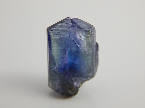 Tanzanite bi-color Crystal Rough 3.3 Grams (#13)