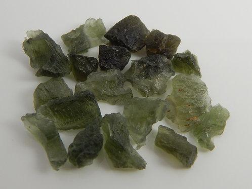 Moldavite Facet/Cabbing Rough 10 Grams (#1)