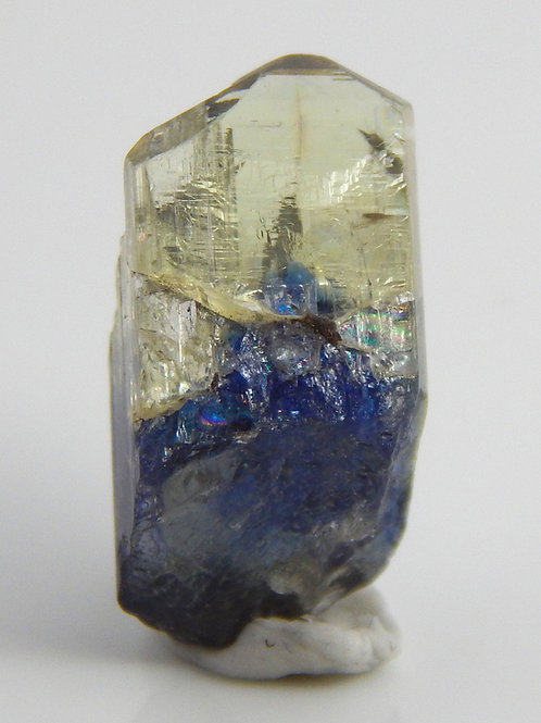 Bi-Color Natural Tanzanite Crystal 1.2 Grams (#52)