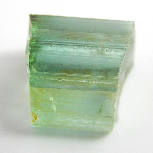 Green Congo Tourmaline Facet Rough 2.4 Grams (#561p)