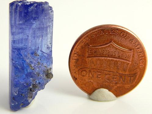 Natural Tanzanite Terminated Crystal 4.8 Grams (#62)
