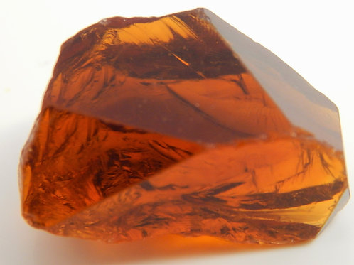 Red Citrine Facet Rough 10.4 Grams (#68p)