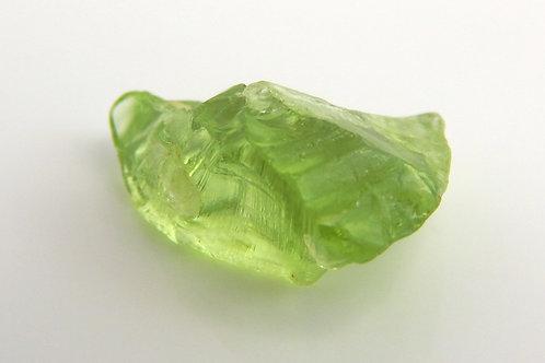 Mint Peridot Facet Rough 1.1 Grams (#67p)