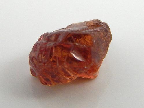 Umba Sapphire Orangish red  Facet Rough 0.6 Grams (#258p)