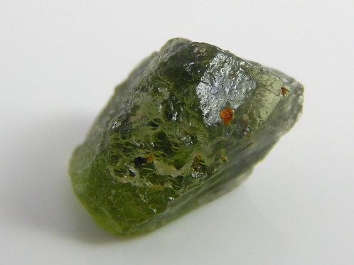 Green Diopside Facet Rough 1.3 Grams (#3)