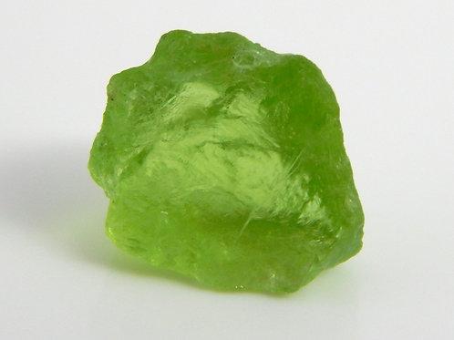 Mint Peridot Facet Rough 1.2 Grams (#25p)