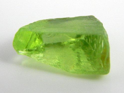 Mint Peridot Facet Rough 1 Gram (#28p)