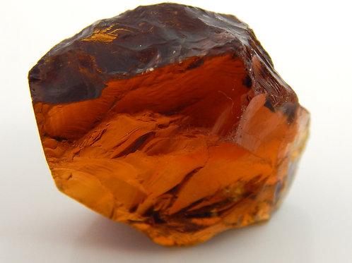 Heated Red Citrine Facet Rough 5.6 Grams (#44p)