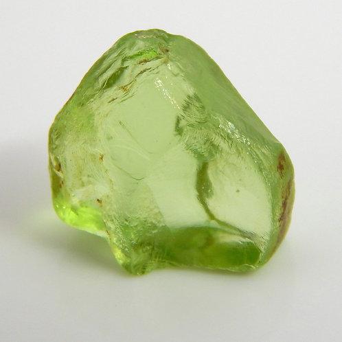 Mint Peridot Facet Rough 1.3 Grams (#42p)