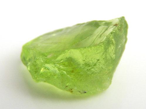 Mint Peridot Facet Rough 1.1 grams (#68p)