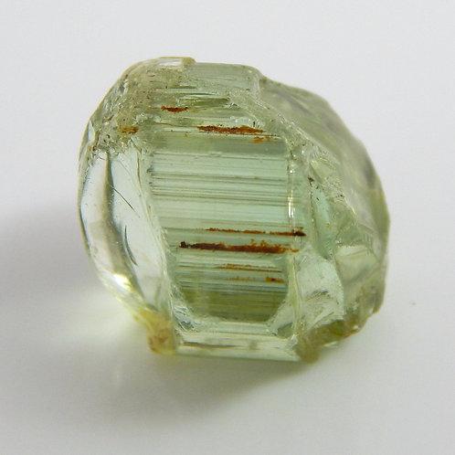 Green Congo Tourmaline Facet Rough 1.9 Grams (#586p)