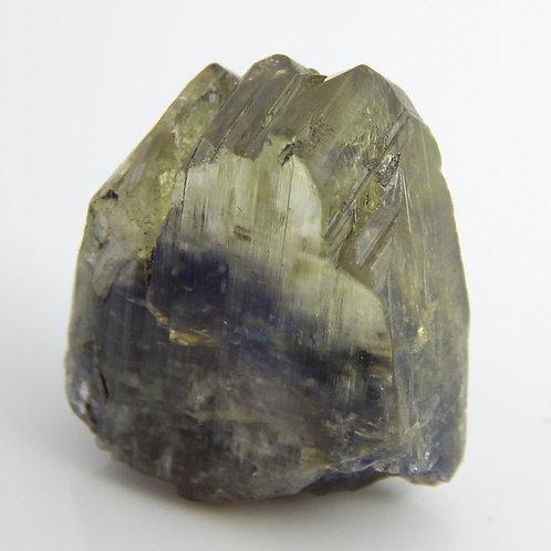 Tanzanite Terminated Bi-color Crystal rough 12.3 Grams (#55)