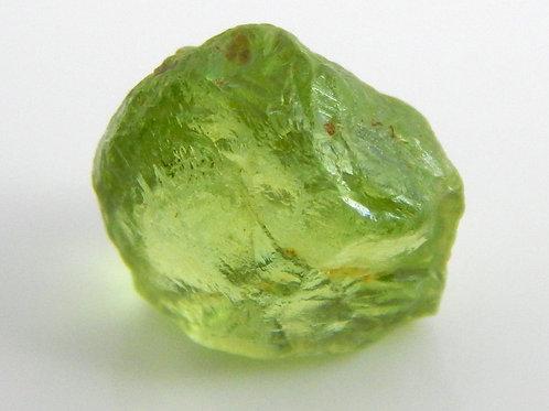 Mint Peridot Facet Rough 0.9 Grams (#31p)