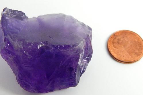 Purple Amethyst Cabbing Rough 49.2 Grams (#17)