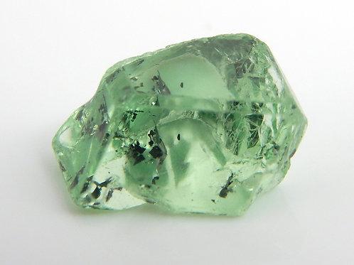 Mint Grossular Garnet Facet Rough 1.1 Grams (#245p)