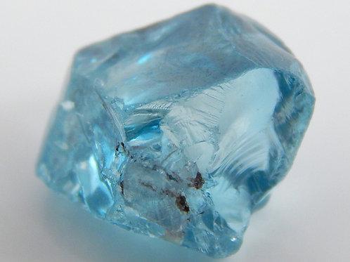 Cambodian Blue Zircon Facet Rough 2.7 Grams (#4p)