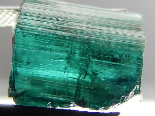 Facet/Cabbing Tourmaline Indicolite Blue Rough 3.8 Grams (#36)