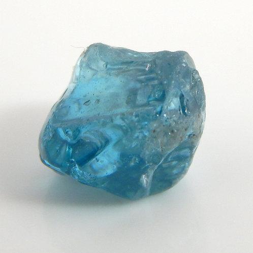 Blue Zircon Facet Rough 1.1 Grams (#8p)