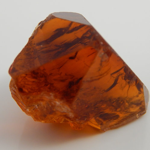 Select Red Citrine Facet Rough 3.7 Grams (#60p)