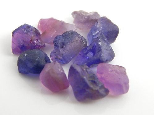 Tunudur Sapphire Parcel Facet Rough 2.1 Grams (#130p)