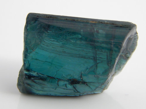 Indicolite Tourmaline Facet Rough 2.4 Grams (#77)