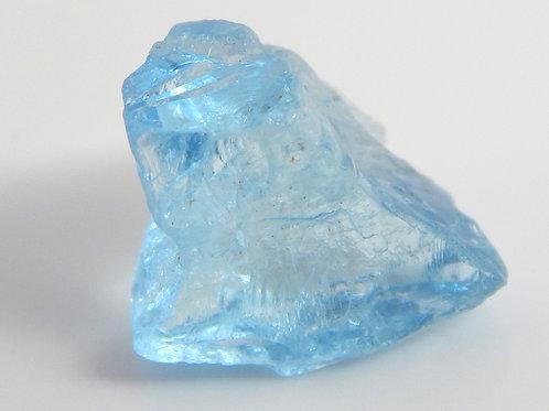 Aquamarine Facet Rough 1.2 Grams (#109p)