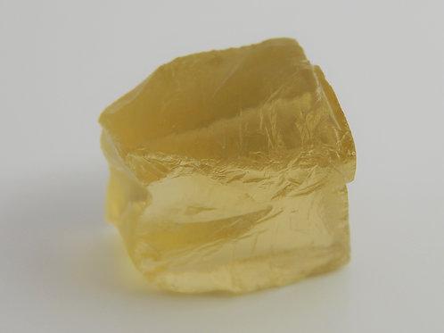 Lemon Citrine Quartz Facet Rough 10.1 Grams (70p)