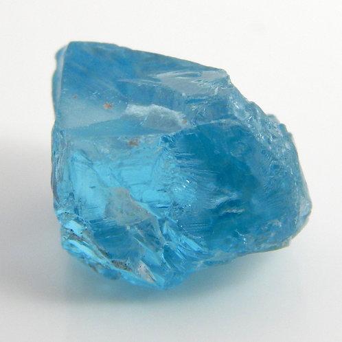 Cambodian Blue Zircon Facet Rough 3.3 Grams (#20p)