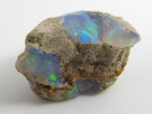 Ethiopian Opal Facet Rough 1.1 Grams (#37p)