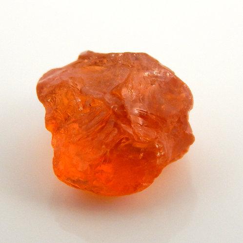 Romona, California Spessartite Garnet Facet Rough 0.9 Grams (#113p)