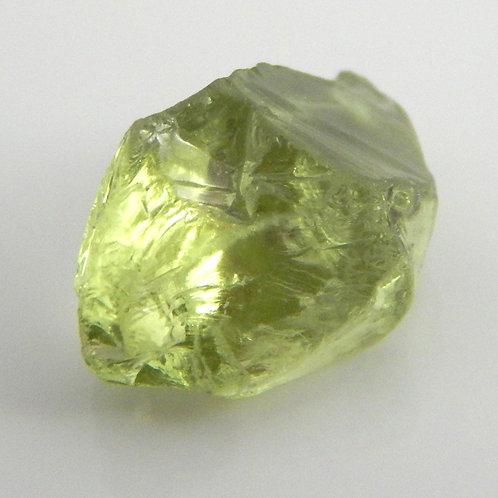 Grossular Green Garnet Facet Rough 1.3 Grams (#56p)
