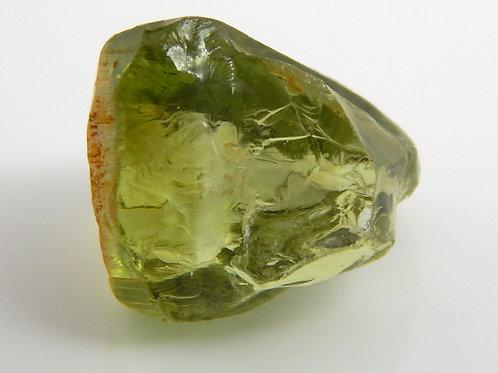 Green Congo Tourmaline Facet Rough 1.3 Grams (#493p)