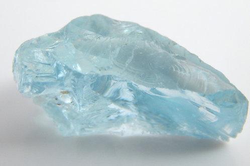 Aquamarine Facet Rough 1.6 Grams (#114p)