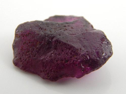 Purple Garnet Facet Rough 1.7 Grams (#154p)