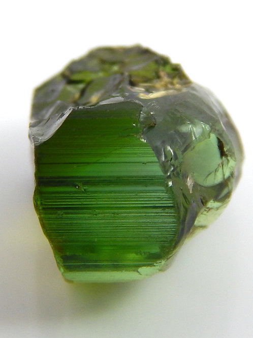 Green Congo Tourmaline Facet Rough 1.7 Grams (#507p)
