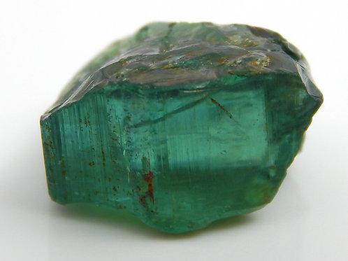 Green Congo Tourmaline Facet Rough 2.7 Grams (#512p)