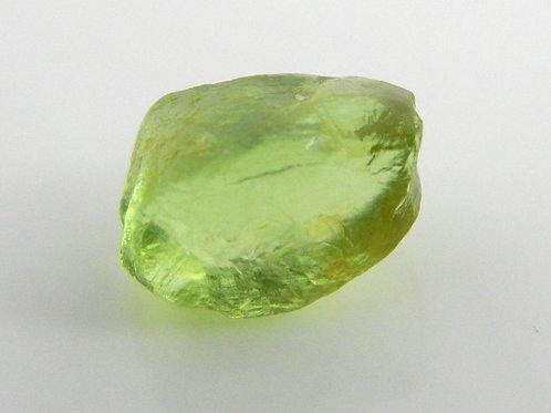 Mint Peridot Facet Rough 0.7 Grams (#18p)