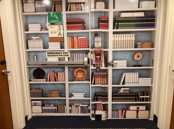 Bookshelf Sensory Mural