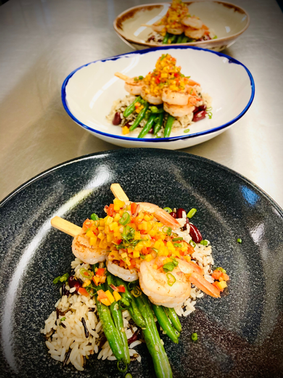 Shrimp with Wild Rice