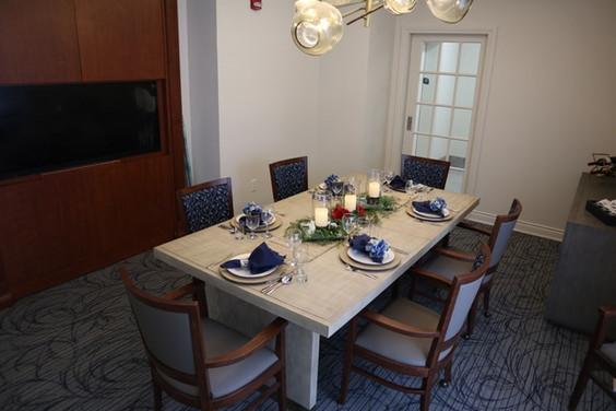 Queens Estate Private Dining Room