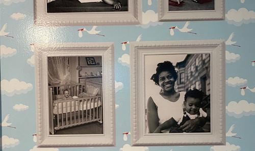 Nursery Room Sensory Mural