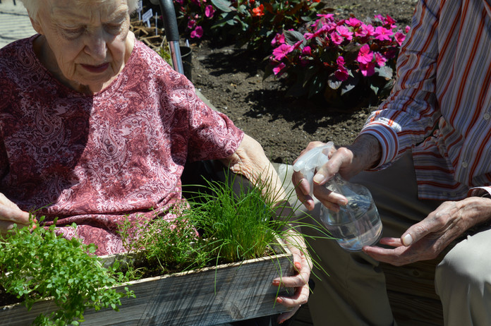 Greenview Resident Gardening