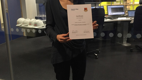 Hexxcell's Applications Engineer awarded Imperial College's Townend prize