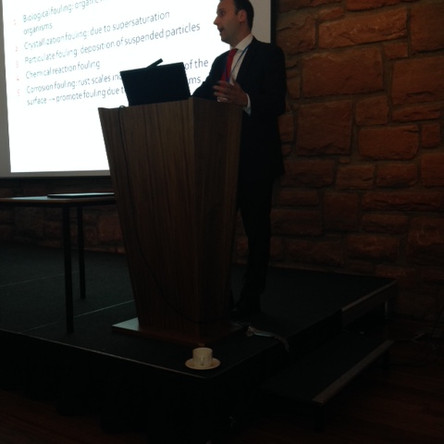 Hexxcell's CTO delivers a Keynote Lecture at the 15th UK Heat Transfer Conference