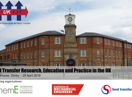 Heat Transfer Research, Education and Practice in the UK - Registration is now open!