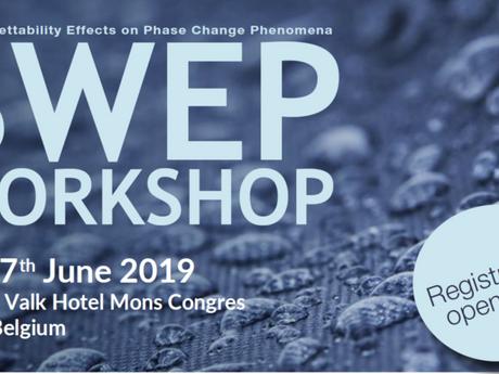"""SWEP """"Surface Wettability Effects on Phase Change Phenomena"""""""
