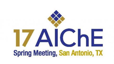 AIChE Spring Meeting in San Antonio, TX